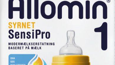 Photo of Semper tilbagekalder modermælkserstatning Allomin Syrnet SensiPro 1 med holdbarhedsdatoen 09.09.20