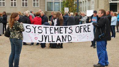 Photo of Aktion systemets ofre afholder demonstration i Fredericia Mandag d. 9 Oktober