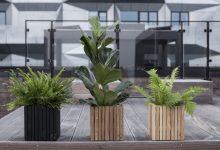 Photo of Firkantede plantekasser & cirkulær økonomi