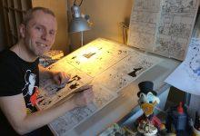 Photo of Disney-tegner fejrer jubilæum på Bogforum