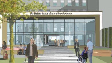 Photo of Indvielse af det nye indgangsparti ved sundhedshuset