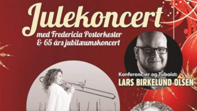 Photo of Fredericia Post-Orkester – Julekoncert 2018.