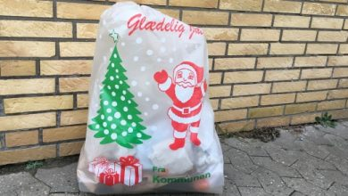 Photo of affald i julen