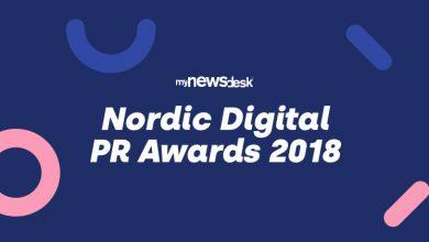 Photo of Her er de nominerede til Nordic Digital PR Awards 2018
