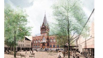 Photo of Se, mærk og hør om byens nye rådhustorv