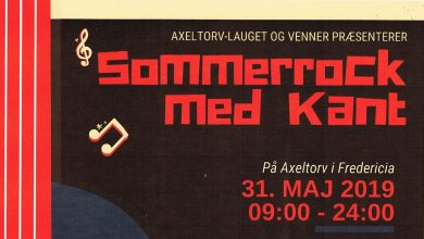 "Photo of Axel-torv lauget inviterer til ""Rock med kant"" Fredag d. 31 Maj"
