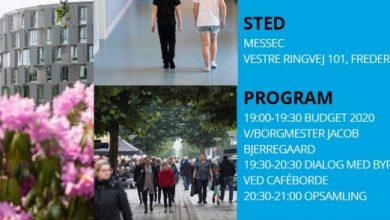 Photo of Borgermøde om Budget 2020 , d. 30 oktober